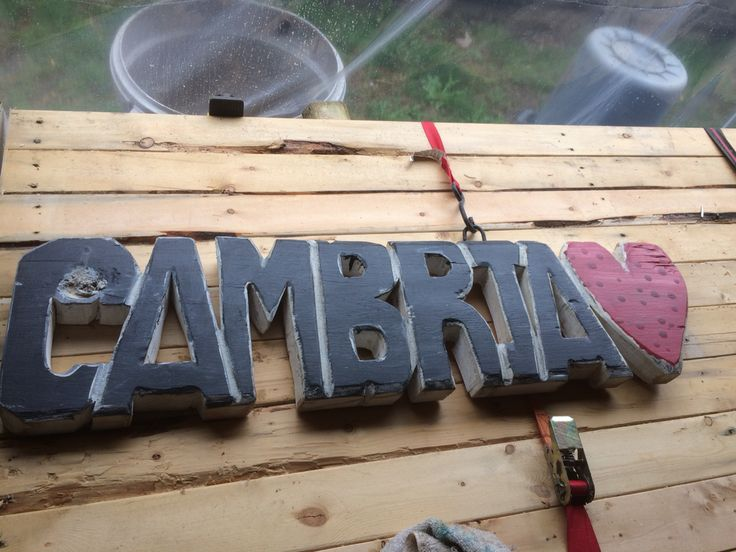Wooden names and words