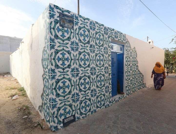 artistas callejeros-Túnez