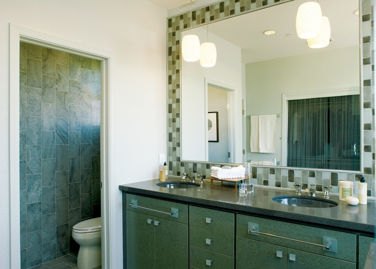 tile frame for mirror interior design by pamela pennington at sunset greenbuilt tile mirror frameslarge bathroom