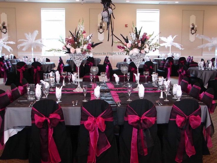 Pink And Black Wedding Ideas: 25+ Best Ideas About Pink Black Weddings On Pinterest