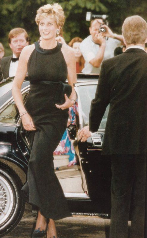 Diana Princess Of Wales Au The Serpentine Gallery ,le 10 Juin 1993