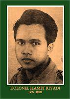 gambar-foto pahlawan nasional indonesia, Slamet Riyadi