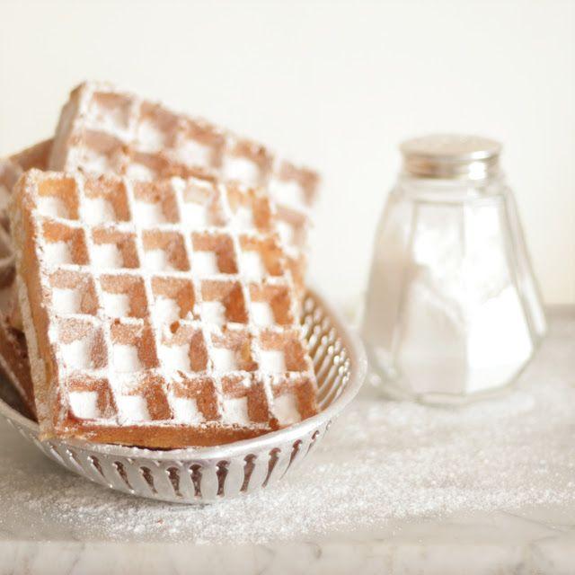 Cakes in the city: Gaufres croustillantes - Sprø vafler*
