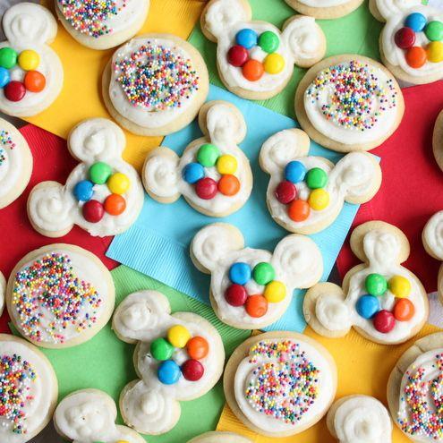 how to make mickey sugar cookies