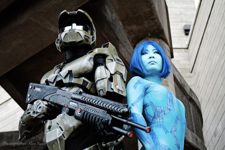 Halo - Green and Blue by Hyokenseisou-Cosplay on deviantART