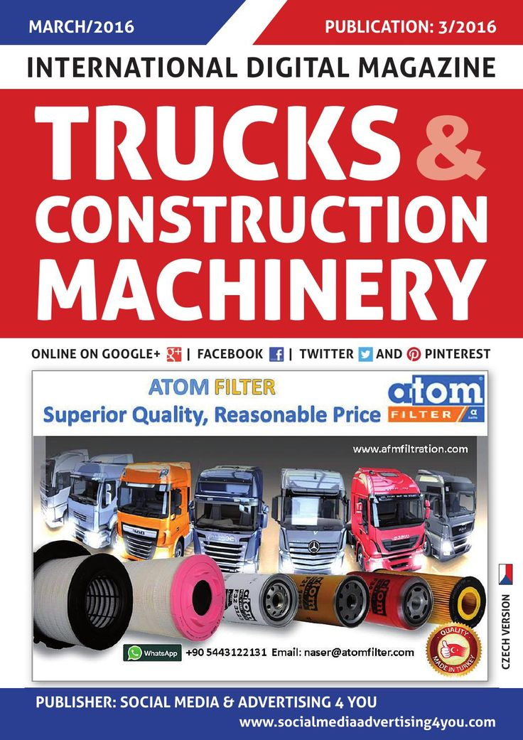 TRUCKS & CONSTRUCTION MACHINERY - March 2016