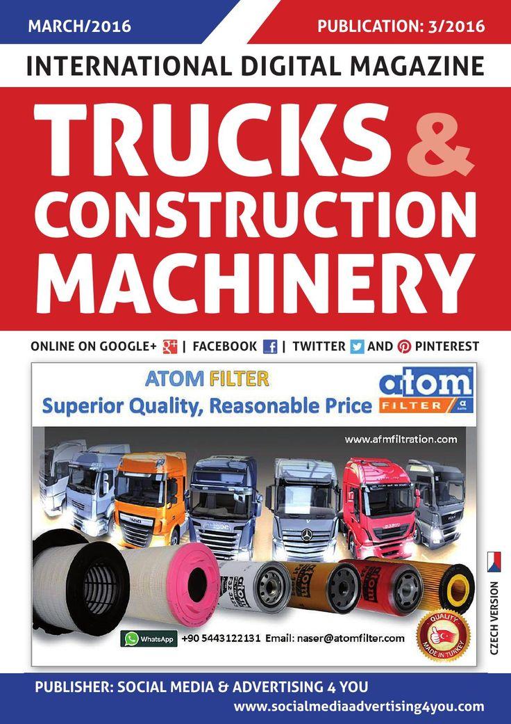 TRUCKS & CONSTRUCTION MACHINERY - March 2016