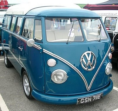 VW BUS - A CLASSIC!Sports Cars, Campers Vans, Vw Campers, Cars Collection, Vw Bugs, Blue, Vw Bus, Vw Vans, Dreams Cars