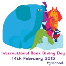 Show your support for International Book Giving Day and invite others to celebrate by adding a badge to your blog or website! #giveabook