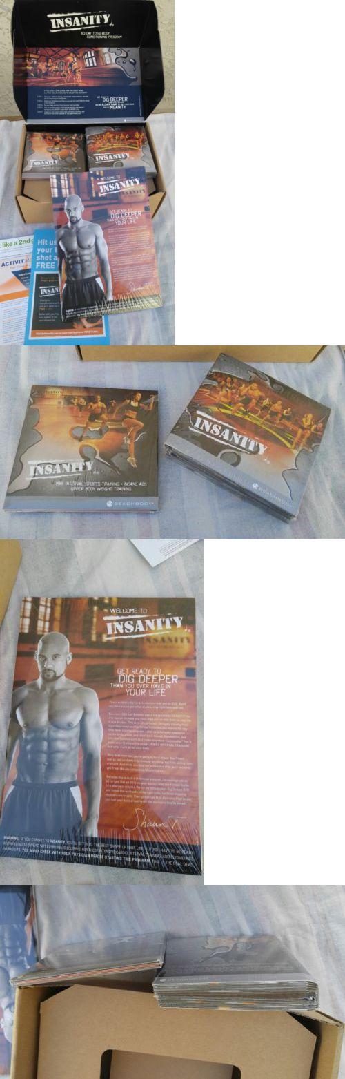 Fitness DVDs 109130: Insanity Beachbody 10 Dvd Set Complete Sealed Open Box -> BUY IT NOW ONLY: $45 on eBay!