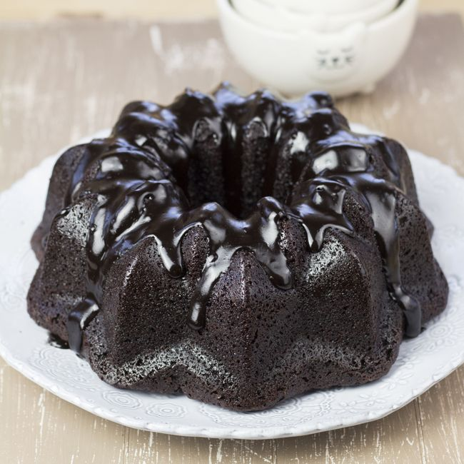 Bundt de chocolate extra chocolateado