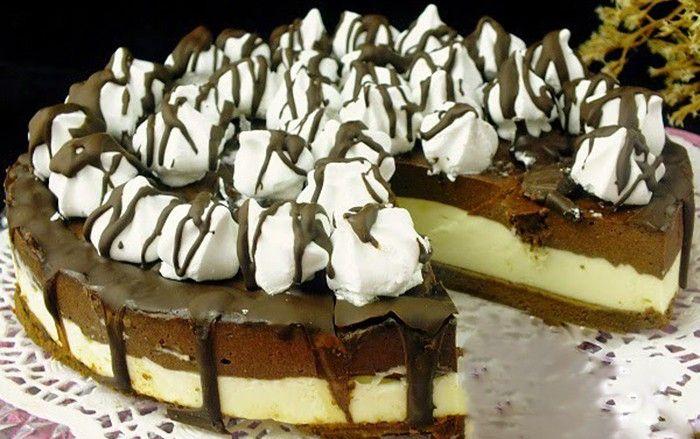 Jeden z mnoha výborných nepečených cheesecake-ů. Lahodná chuť mascarpone krému v kombinaci s nutelou je na sežrání. Mňamka!