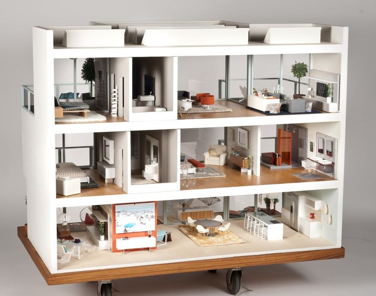 contemporary dollhouse furniture. Brilliant Contemporary 10 Dollsu0027 Houses Youu0027ll Wish You Lived In Dollhouse DesignModern  In Contemporary Furniture F