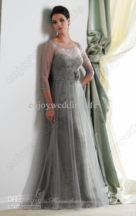 Discount Mother of Bride Dresses | Cheap Bride Dresses - Discount Floral Floor Length Mother of the Bride ...