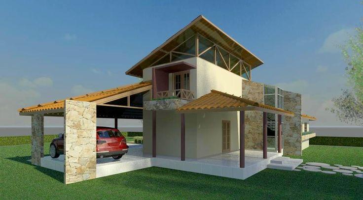 Projetos de casas de campo modernas - Casas bonitas de campo ...