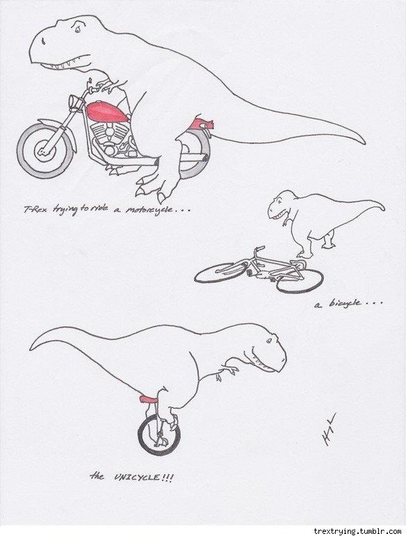 25 best images about T Rex Cartoons on Pinterest