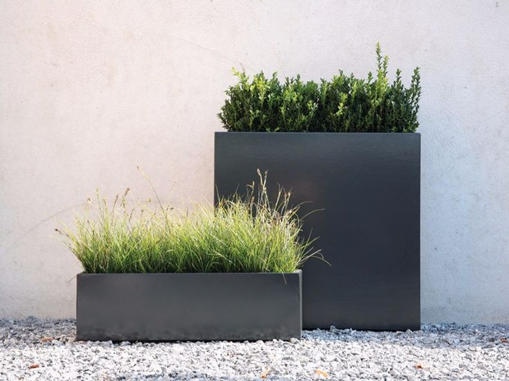 Download the catalogue and request prices of Flowerbox by Conmoto By Lions At Work, galvanized steel planter design Carsten Gollnick