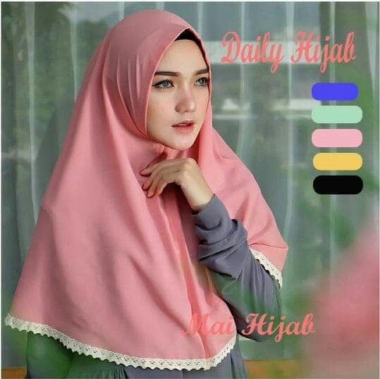 Jilbab Instan Daily Hijab buble pop