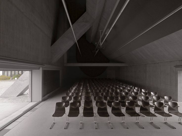 Auditorio Plantahof / Valerio Olgiati Architect