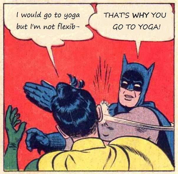 That's why you go to Yoga!  Come to Clarkston Hot Yoga in Clarkston, MI for all of your Yoga and fitness needs!  Feel free to call (248) 620-7101 or visit our website www.clarkstonhotyoga.com for more information about the classes we offer! #yoga #hotyoga