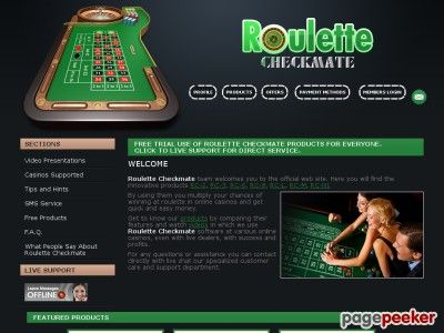 """awesome De #ClickBank: """"Roulette Checkmate - Logiciel pour la Roulette avec la prédiction de nombre pour l'argent FACILE et les bénéfices rapides dans les casinos en ligne. """""""