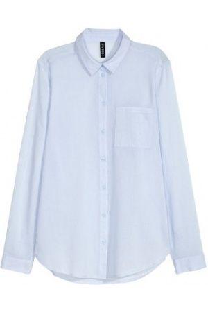 Dames Blouses - H&M Katoenen overhemdblouse