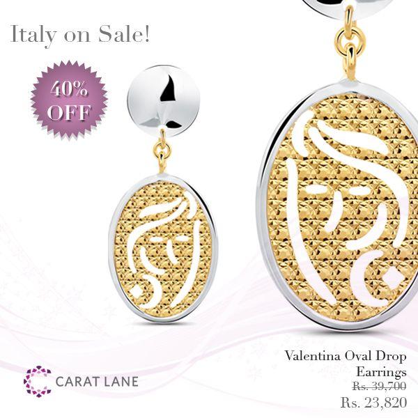 Earrings for Women, Yellow Gold, 18 Kt Yellow Gold, 2017, One Size Italian Finest Jewelry