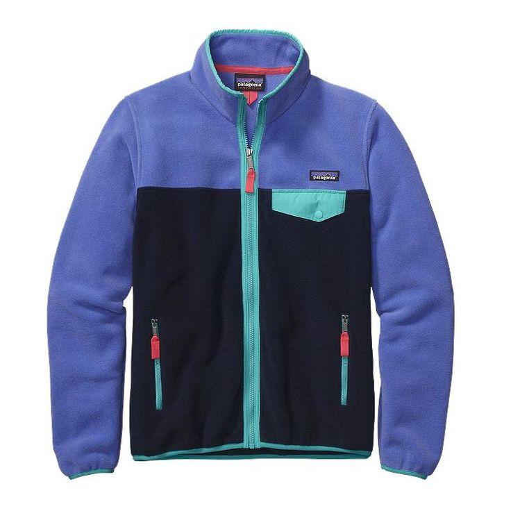 Patagonia Women\'s Full-Zip Snap-T\u00AE Fleece Jacket - Violet Blue VLTB