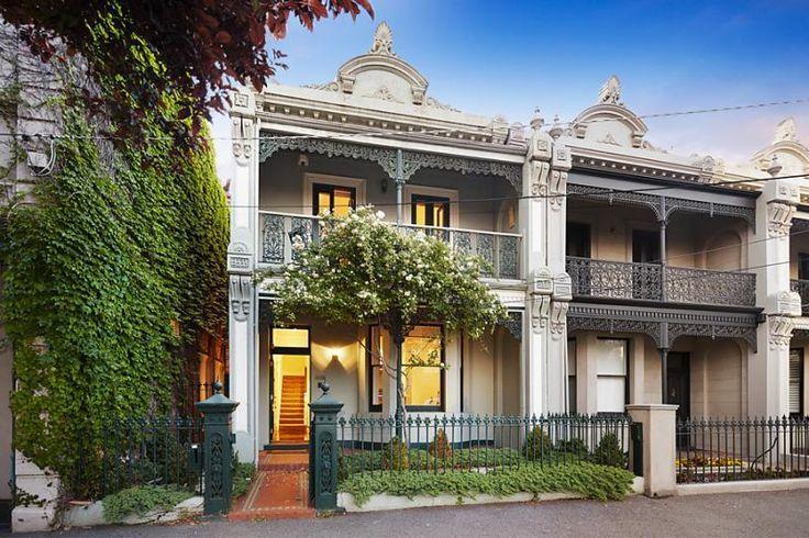 Victorian Terraces, Albert Park Streetscape