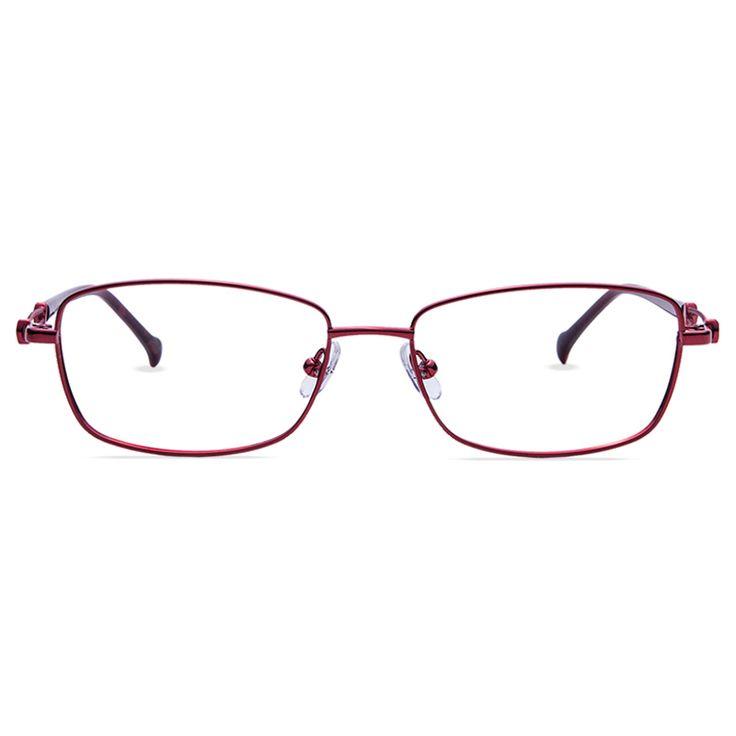 Red #frame #glasses #eyeglasses #prescription