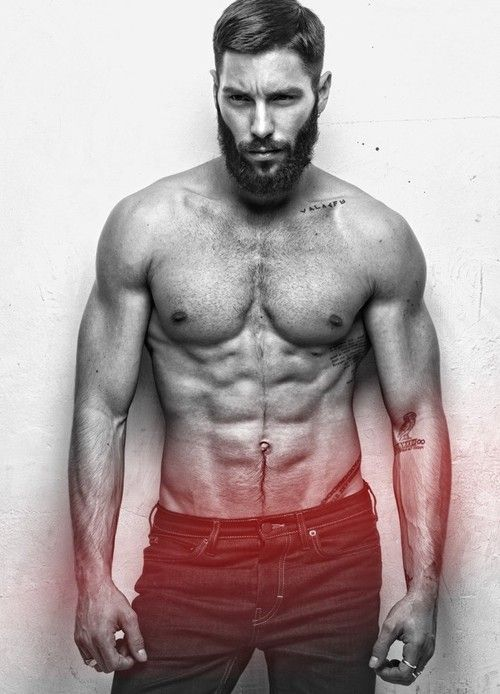 Stephane Rodrigues-This has to be a Winston. I'm ready to see bearded men who aren't uber-skinny and sporting a pompadour: