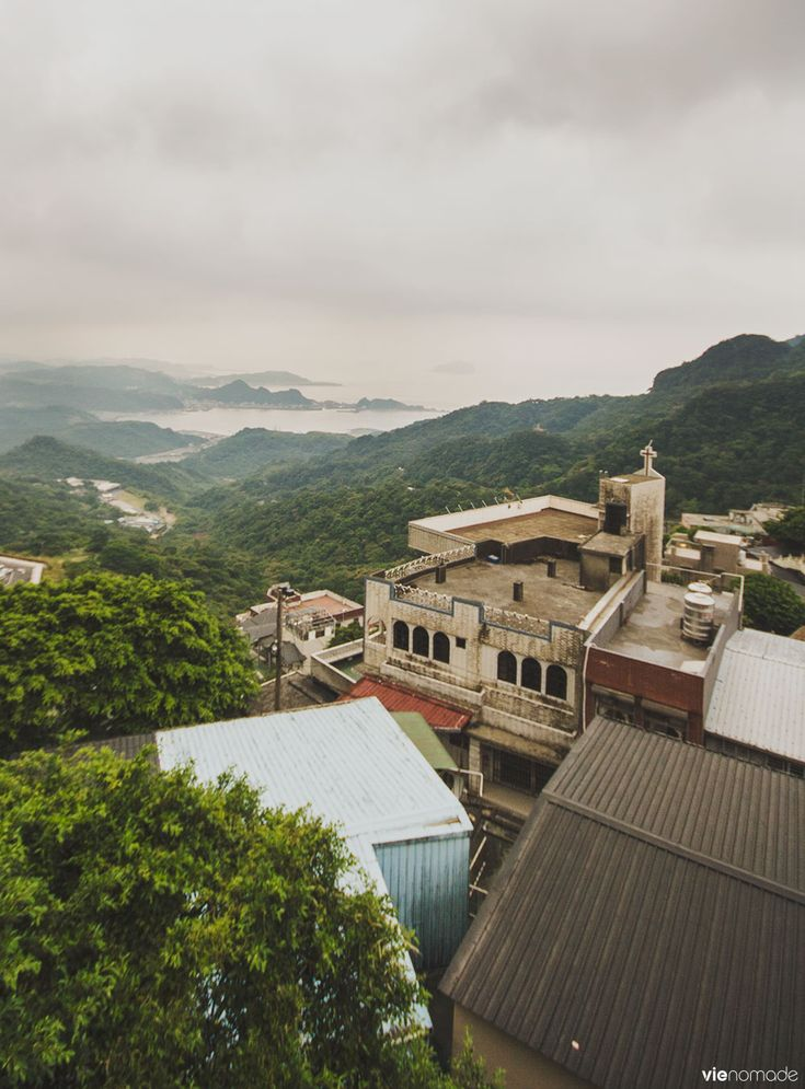 La vue de Jiufen, - Voyage à Taïwan