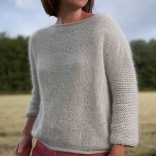 Mellow Sweater by Anna & Heidi Pickles FREE PATTERN in size XS other sizes available to buy Pattern on Ravelry and the Pickles site