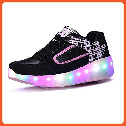Zcoins Girls Women Roller Skate Shoes with 2 Wheels Light Skate Sneaker - Athletic shoes for women (*Amazon Partner-Link)