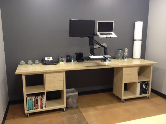 kallax workstation1