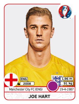 129 Joe Hart - Inglaterra - EURO 2016