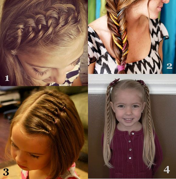 Marvelous 1000 Images About Cute First Day Of School Hairstyles On Hairstyles For Women Draintrainus