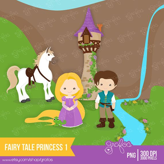 FAIRY+TALE+PRINCESS+1++Digital+Clipart+Digital+Clipart+by+grafos,+$5.00