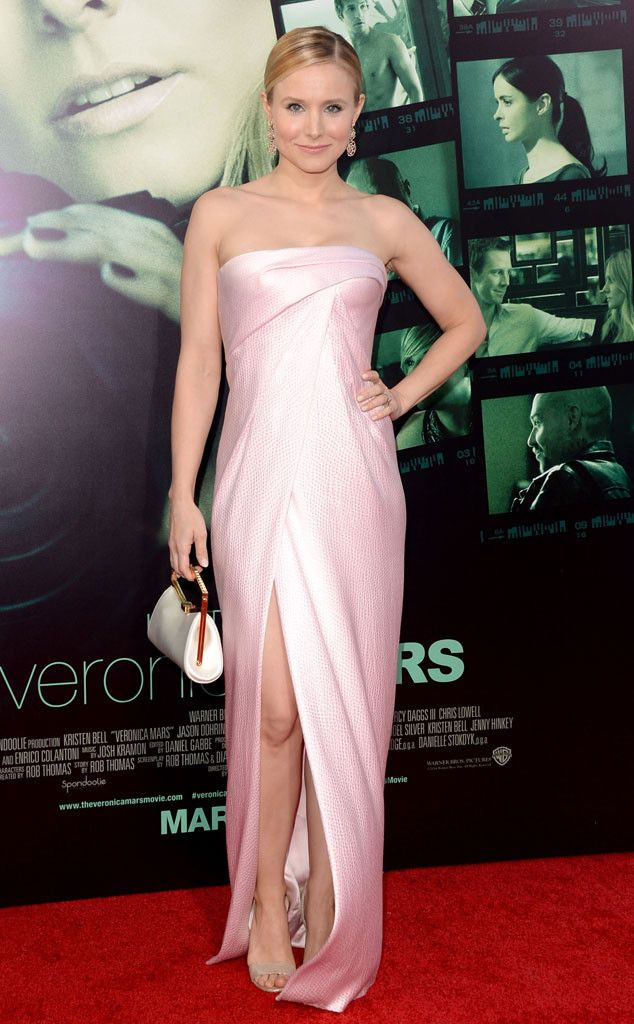 Pink Perfection From Kristen Bell S Best Looks Celebrity