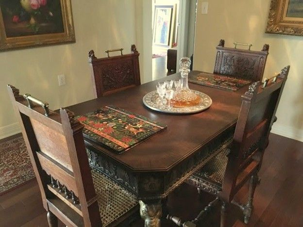 Our Customer Iris In Texas Bought These Oak Henry Ii Dining Chairs