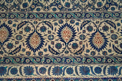 Islamic Cultures, Rustem Pasha Mosque, Istanbul, Turkey مسجد رستم...