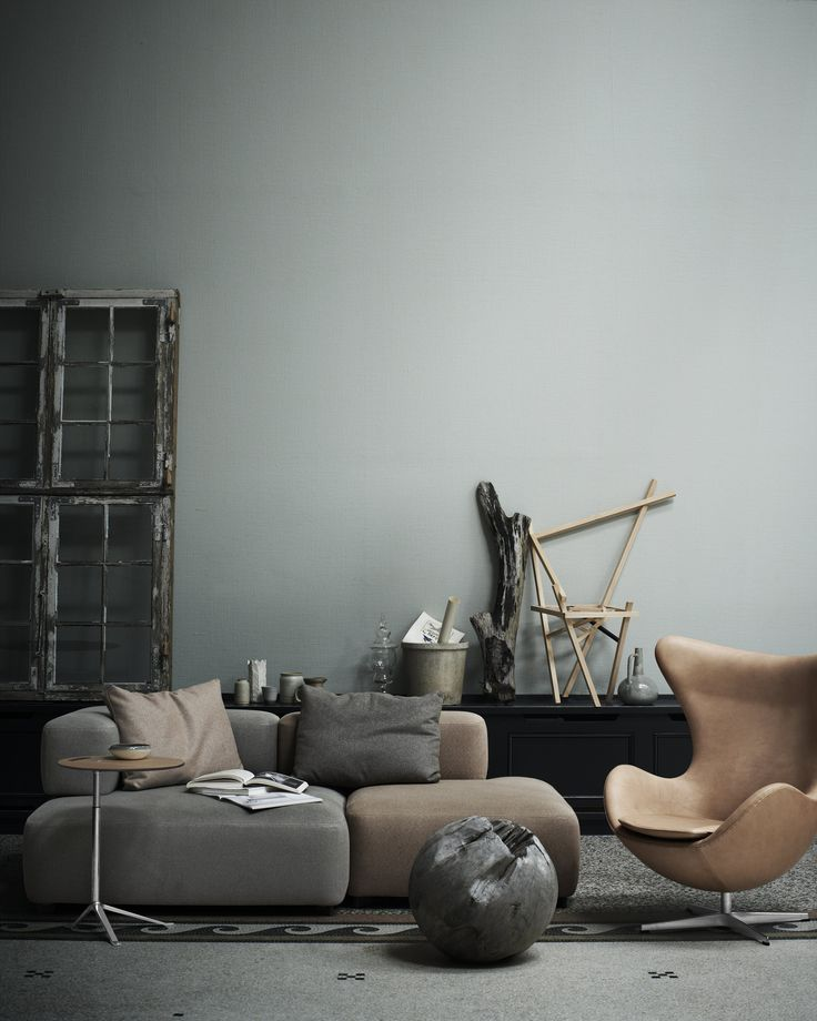 Egg Chair / Arne Jacobsen – nowoczesna STODOŁA | wnętrza & DESIGN | projekty DOMÓW | dom STODOŁA