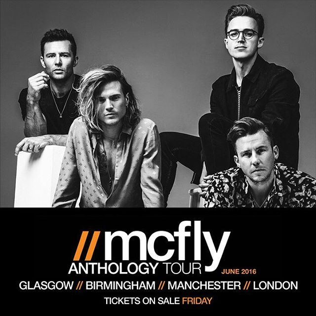Fancy a McFly tour anyone? #McFly #McFlyAnthology #Tour