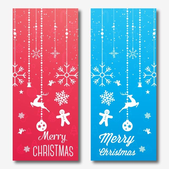 Abstract Merry Christmas Vertical Banner Template Merry Christmas Festival Decorations