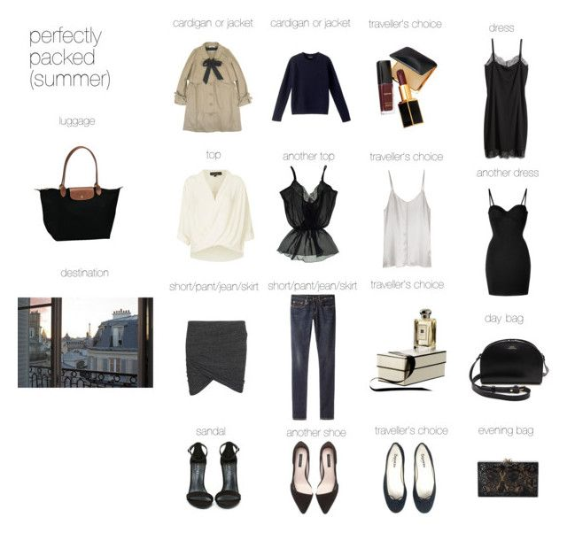"""""""perfectly packed (paris)"""" by mayblush ❤ liked on Polyvore featuring Longchamp, H&M, Topshop, Charlotte Olympia, A.P.C., Étoile Isabel Marant, Repetto, Zara, Shoe Cult and Myla"""
