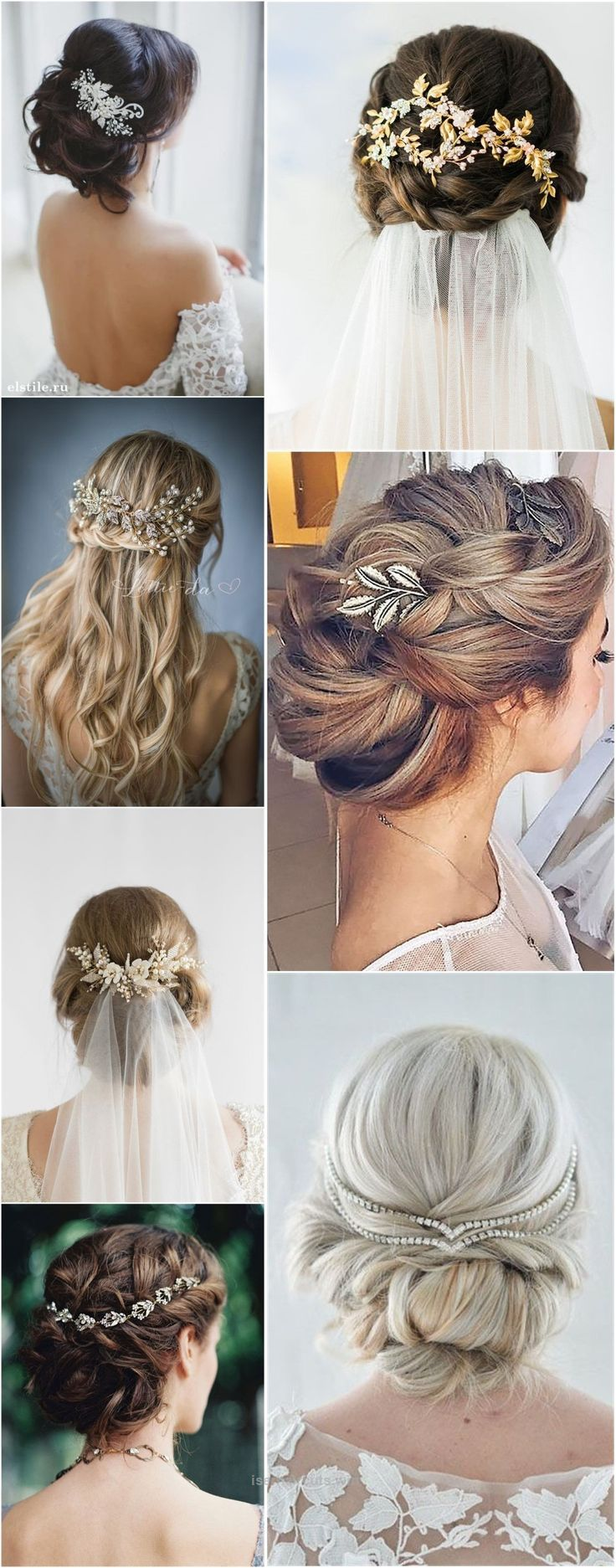 Nice Wedding Hairstyles » Hair Comes the Bride – 20 Bridal Hair Accessories Get Style Advice for Any Budget ❤️ See more: www.weddinginclud…  The post  Wedding Hairstyles » Hair Com ..
