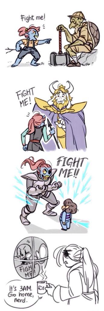 Undyne and Papyrus  Undertale