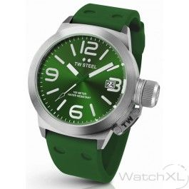 TW Steel TW505 Canteen Fashion watch green 45 mm