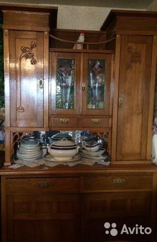 Старинный антикварный буфет— фотография №1