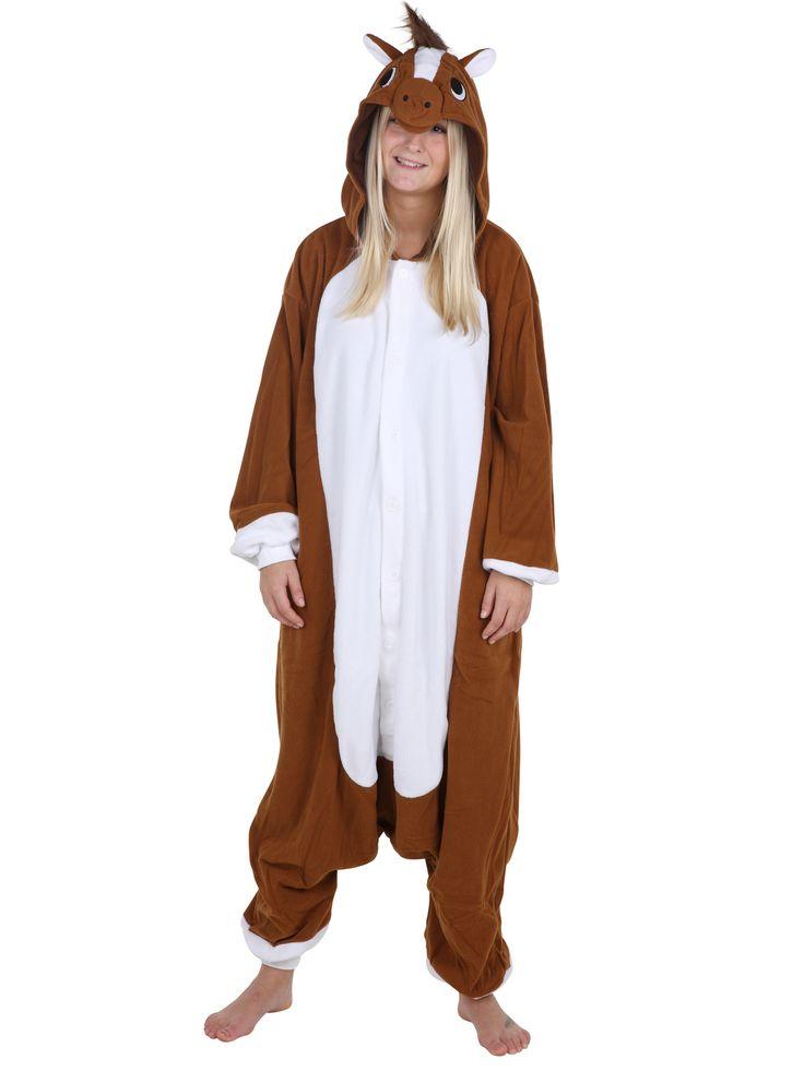 Heste kostume | Jumpsuit kostumer | Dyrekostumer.dk
